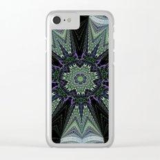 Reflecting Pattern Mandala 1 Clear iPhone Case