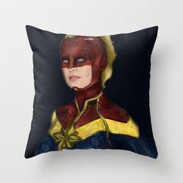 Captiain Brie Throw Pillow