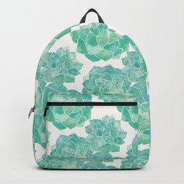 Rosette Succulents – Mint Palette Backpack