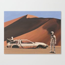 Forgotten Time Machine Canvas Print