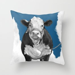 Welcome to the Pasture 2 Throw Pillow