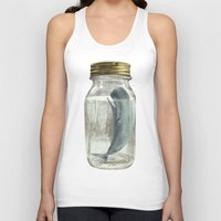 surrealism Tank Tops featuring Extinction by Terry Fan