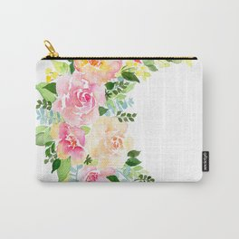 Crescent Bloom Carry-All Pouch