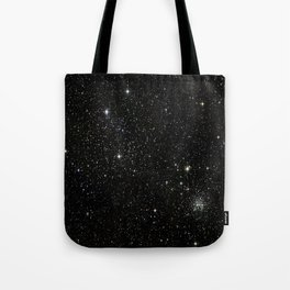 Space - Stars - Starry Night - Black - Universe - Deep Space Tote Bag