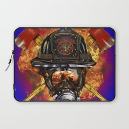 Firefighter rescue volunteer Laptop Sleeve