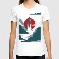 mid century modern T-shirts featuring The Voyage by Danny Haas