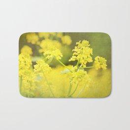 Floral Page Bath Mat