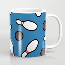Bowling for Pins Pattern Coffee Mug