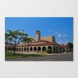 Lourdes University-  Franciscan Center in the Spring VIII Canvas Print