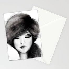girl /Agat/  Stationery Cards