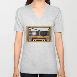 The cassette tape pirate Unisex V-Neck