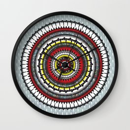 Mudflap Medallion Wall Clock