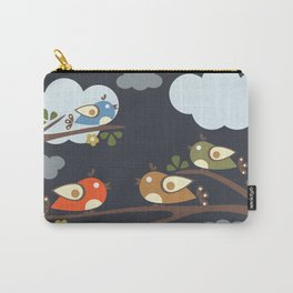 Cute Birds Carry-All Pouch