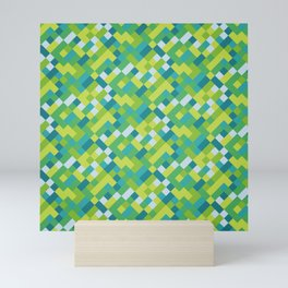 Colorful pattern design seamless Mini Art Print