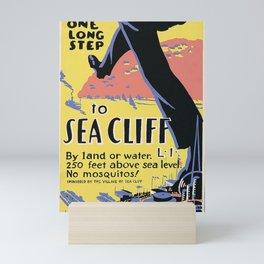 Sea Cliff Mini Art Print