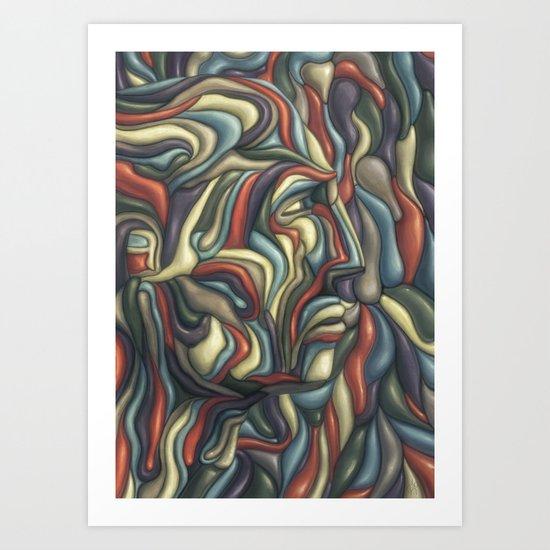 XY Art Print