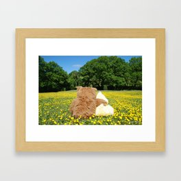 Bear with Me Framed Art Print