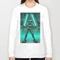 jedi Long Sleeve T-shirts featuring JEDI GUARDIAN by Bungle