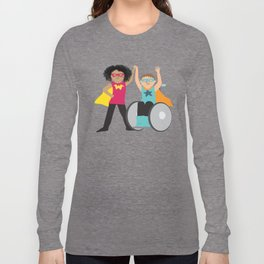 We could be heroes Long Sleeve T-shirt