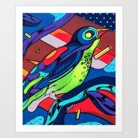 We are Bird Art Print