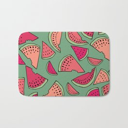 Watermelon Party Bath Mat