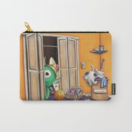 Messy Monsters by dana alfonso Carry-All Pouch