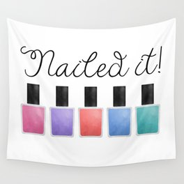 Nailed It Wall Tapestry