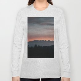 Mountainscape - Landscape and Nature Photography Long Sleeve T-shirt