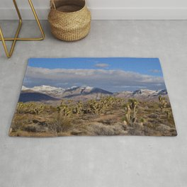 Winter in the Desert Rug