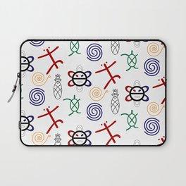 Taino Pattern Laptop Sleeve