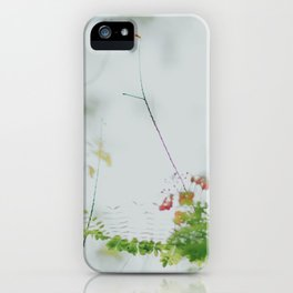 flower photography by chuttersnap iPhone Case