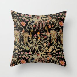 Birds of Paradise. Throw Pillow