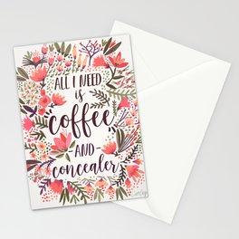 Coffee & Concealer – Vintage Palette Stationery Cards