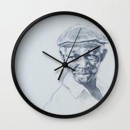 Ibrahim Ferrer de mi corazón Wall Clock