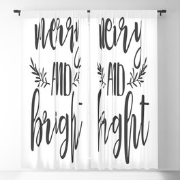 Merry and Bright Blackout Curtain