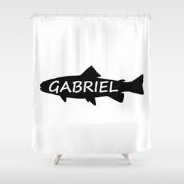 Gabriel Fish Shower Curtain
