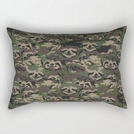 Sloth Camouflage Rectangular Pillow