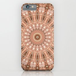 Mandala scandinavian symbols iPhone Case