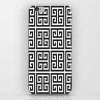 greek iPhone & iPod Skins featuring Greek Print by I Love Decor