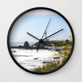 Springtime On The West Coast Wall Clock