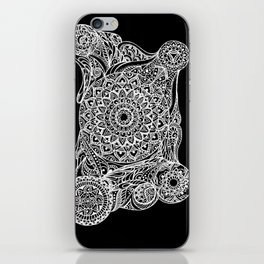Mandala of deep meditation iPhone Skin