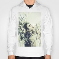 stag Hoodies featuring Stag by Anna Dittmann