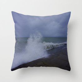 The Gale of Halloween '14 #1 (Chicago Waves Collection) Throw Pillow