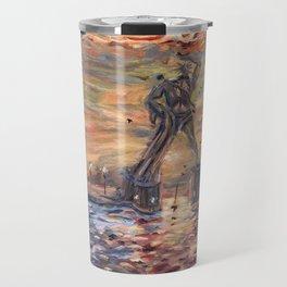 Colossus of Rhodes Greece Travel Mug