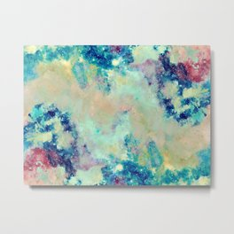 Paint & Thoughts Metal Print