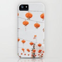 Chinatown II / San Francisco, California iPhone Case