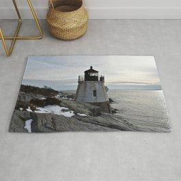 Castle Hill Lighthouse, Newport Rhode Island Rug