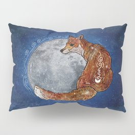 Fox Moon Pillow Sham