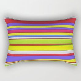 Hard horizons Rectangular Pillow
