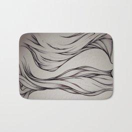 Hidden Curve Bath Mat